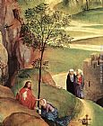 Hans Memling Canvas Paintings - Advent and Triumph of Christ [detail 2]